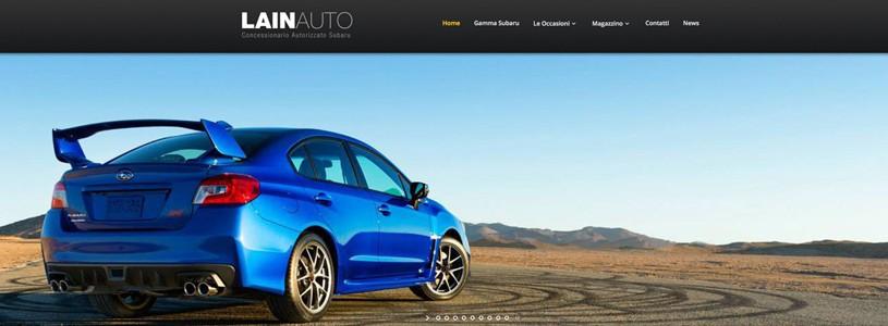 E' online il nuovo sito di Lain Auto