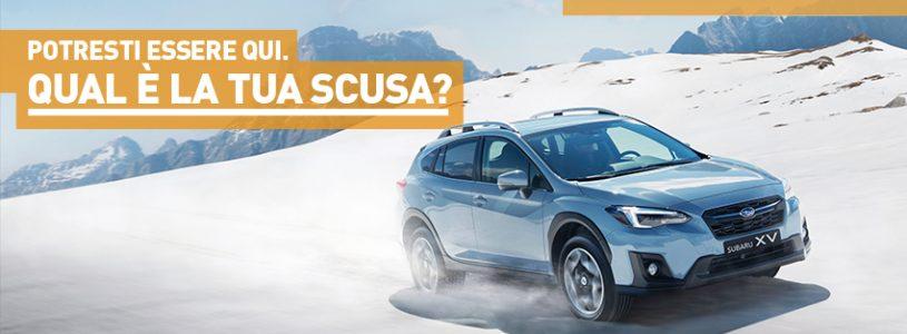 Test-Drive sulla neve con Subaru Driving School